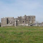 Wir haben heute keine Lust auf weite Strecke und schauen uns darum Carew Castle an