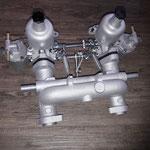 Als mögliche Alternative zum Webervergaser wird die SU HS2 Vergaseranlage fertiggestellt