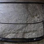 Das Verdeck wird abgezogen und das Gestänge pulverbeschichtet