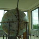 Dort steht auch der Gottorfer Globus, in den man hineingehen kann