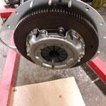 neue Borg und Beck Kupplung , das Schwungrad wurde mit neuen Schrauben montiert
