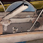 Alle Teile sind da und in ordentlichem Zustand, nix verfault oder verbraucht und das bei einem Kombi!