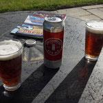 Und dann bei strahlendem Sonnenschein erst mal entspannen, Smithwicks Red Ale ist dazu prima geeignet!