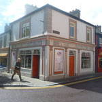 Typisches Irisches Stadthaus, nette Cafes überall und ....