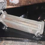 Der Wärmetauscher wurde abgedrückt und gereingt und ist einwandfrei dicht