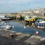 Und der kleine Hafen.....