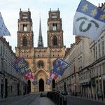 Dann kommt endlich das Loiretal und die herrliche Stadt Orleans mit ihrer faszinierenden Kathedrale,unsere letzte Übernachtung vor Zuhause