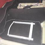 ...und dann unter dem Teppich verlegt , die Sitzgestelle dürfen auch schon rein :-)