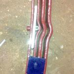 Die Blattfeder bekommt noch neue Superflex Teile und Vulcollanscheiben