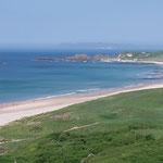 Im Hintergrund sieht man den Mull of Kintyre, Schottland, an dessen Spitze war unser Spitfire auch schon....