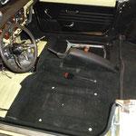 Handbremskonsole anpassen, der MK3 hat original keine, diese stammt aus einem 1500er