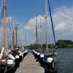 Auch einen Besuch wert: Der Museumshafen Kappeln, wo über 100 Jahre alte 2 Master liegen