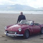 und machen vorher einen kleinen Abstecher zum Inch Beach, ein riesiger Strand, den man mit dem Auto befahren darf