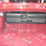 Der Tank und die Spritpumpe werden eingebaut