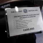 OSCA, das Preisschild sieht bei den meisten hier so aus