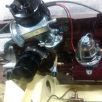 Die wunderschöne Benzinpumpe mit Schauglas wurde von mir schon vor ein paar Jahren als Deko überholt und  kommt nun zum Einsatz