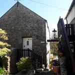 Das ist the Granary, unser Cottage für eine Woche in St.Florence in Wales, fast direkt am Meer