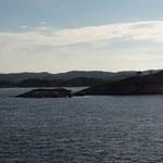 nicht mal 2 Stunden später sind wir in Norwegen in Christiansand, wo wir nochmals übernachten