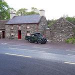 Molly Gallivans Cottage ist ein kleines Museum mit Shop und Tearoom