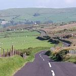 Dann gehts der Antrim Coast Road entlang zurück :-)), bis zum Abend haben wir insgesamt 4100km gefahren