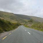 Dann geht´s zurück nach Süden, über Dingle wieder nach Norden, zum Connor Pass
