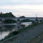 Direkt an der Loire gelegen