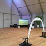 Simulator für Heli und Quadrocopter  bei RC- Race in Nürnberg an Flughafen 2015