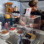 Ludwar Hausmesse, frozen yogurtbar