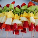 fruchtbar mobil - Fruchtspieße