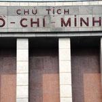 Mausolée Ho Chi Mihn, Hanoï