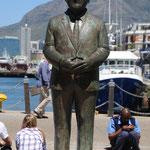 Frederik Willem de Klerk  - Nobel Square Capetown