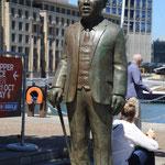 Albert Luthuli - Nobel Square Capetown