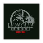 中川金属株式会社様のスタッフTシャツ用にロゴマークを制作させて頂きました。 We created a logo for the staff T-shirt of Nakagawa Metal Co., Ltd.