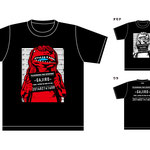 福崎町のオフィシャルTシャツを制作させて頂きました。アメコミ調を意識して作画しています。I made an official T-shirt for Fukusaki-cho. I draw with an awareness of the American comic style.