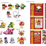 大阪王将様のオリジナルキャラクターを制作しました。 HPで展開されるキャラクター設定や四コマ漫画も制作しています。