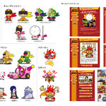 大阪王将様のオリジナルキャラクターを制作しました。 HPで展開されるキャラクター設定や四コマ漫画も制作しています。Original character of Osaka Osho was created. We also produce character settings and four-frame comics developed on HP.
