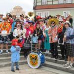 Eine lustige Truppe - Fasching in Donauwörth 2011