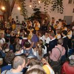 Das Publikum macht toll mit - Oberhofen 2011