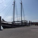 Vom Hafen dann in die Ferienwohnung   Norderney Urlaub