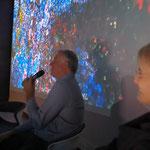 Philippe Pierre (Director CIML Institute d'Immunologie Marseille-Luminy), speech about Dear Cell by Regina Huebner