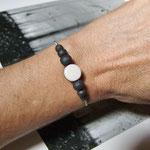 bracelet fantaisie en caramique raku