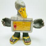 boite canard en céramique