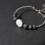 bracelet artisanal en ceramique raku