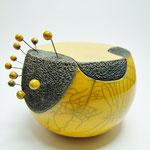 boite objet d'art en céramique