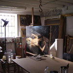 atelier de restauration de tableaux