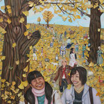 希色の世界 World of hope color/227.3×162.0cm/2008