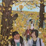 希色の世界 World of hope color/227.3×162.0cm/2008