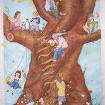 大きな木がほしい I want big tree/145.0×112.0cm/2006