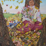ねむりひめ sleeping princess/162×130cm/2012
