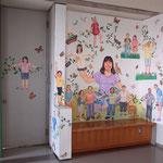 こんにちはこんにちはごっこ Hello game/女子美術大学 廊下/2010